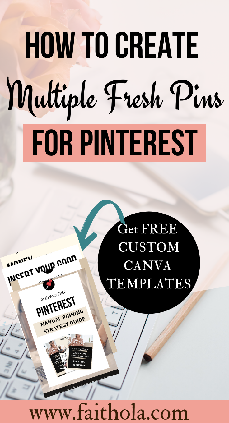 free pinterest pin templates