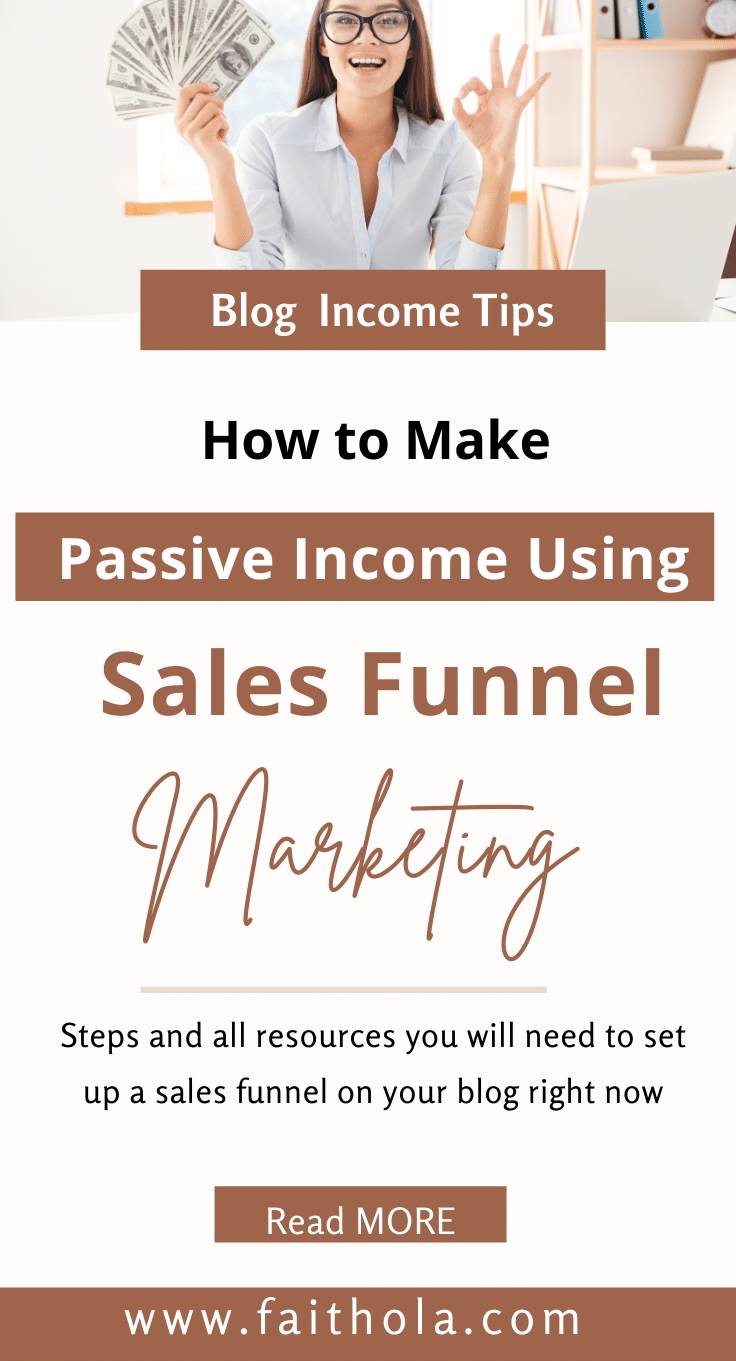 sales funnel pin